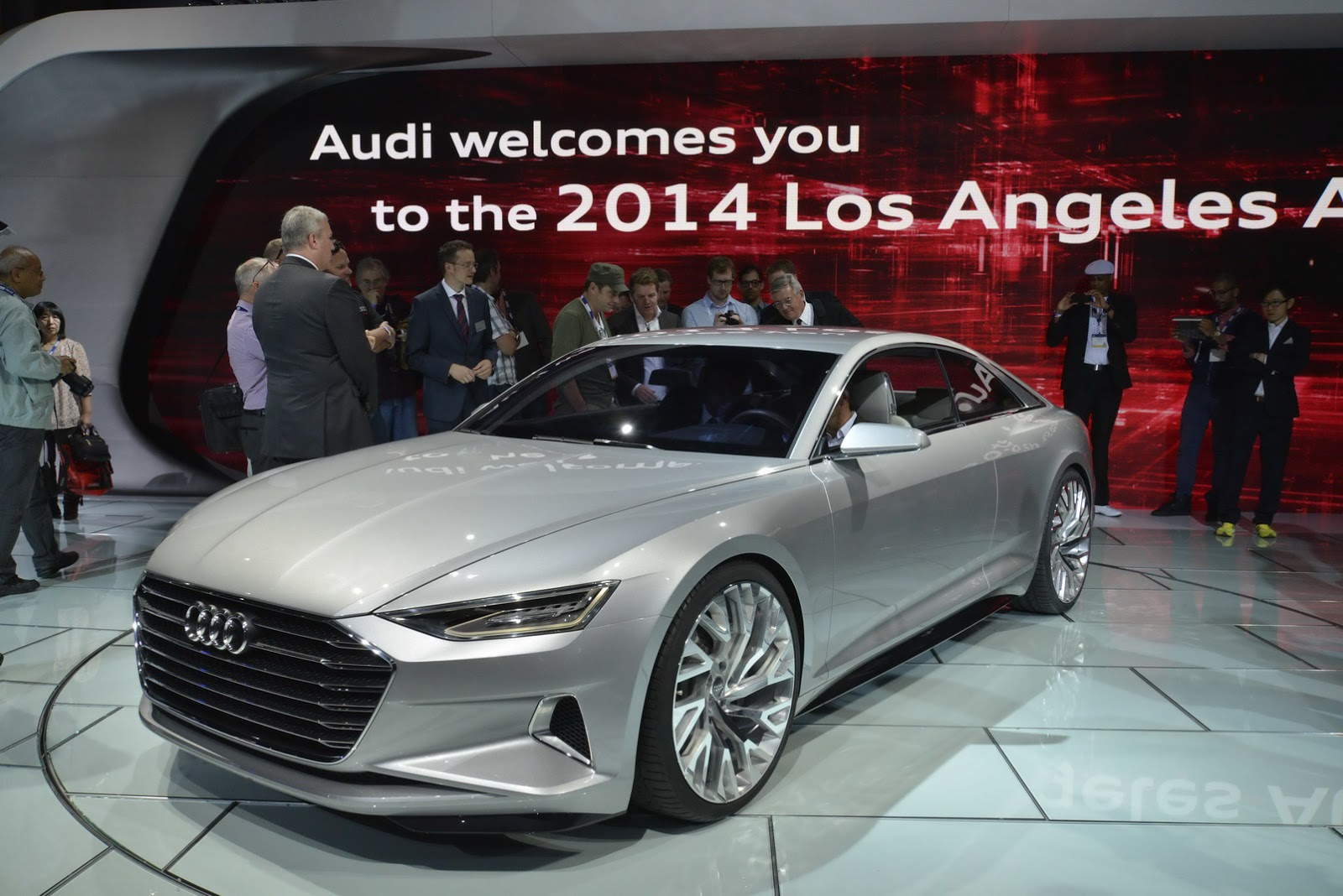 Audi Prologue Coupe Concept is Ingolstadt's S-Class Coupe