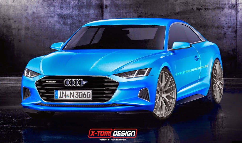 Audi Prologue Rendered in Production A9 Guise - Motorward
