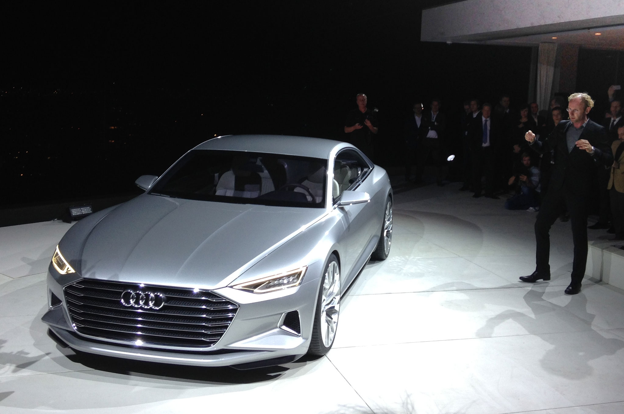 Audi Prologue worked his way