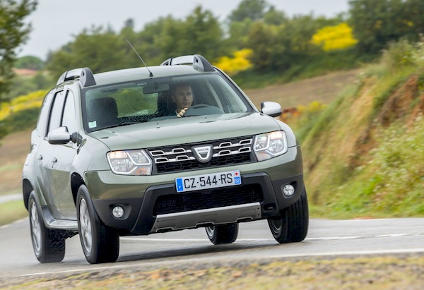 Comment on Bosnia & Herzegovina May 2014: Dacia Duster & Renault Clio