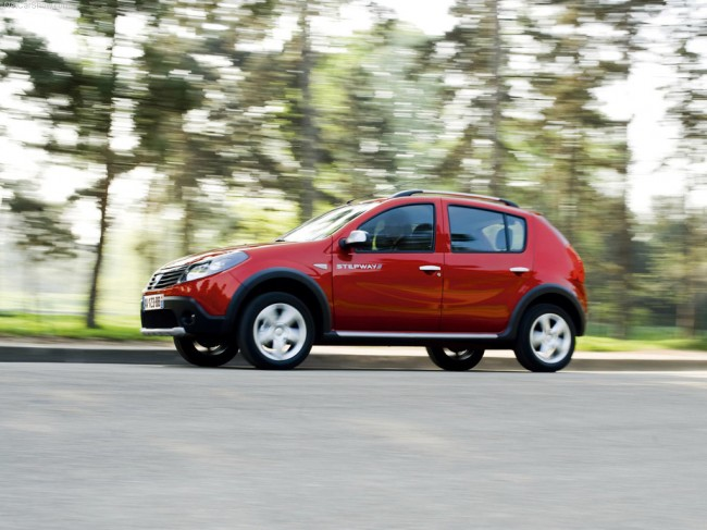 Dacia 2009 Sandero Stepway Widescreen Picture #3.