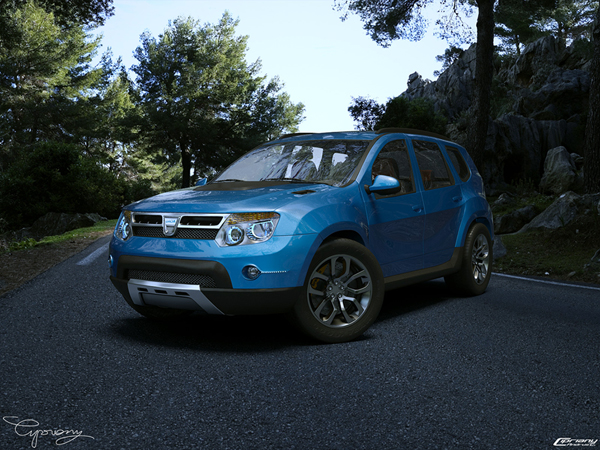 Dacia Duster Tuning by cipriany wallpaper.