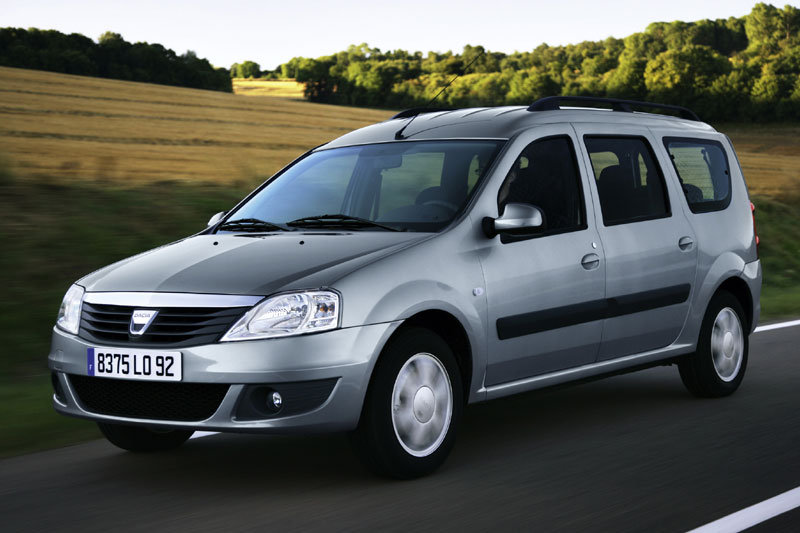 Dacia Logan MCV 1.6 technical details, history, photos on Better