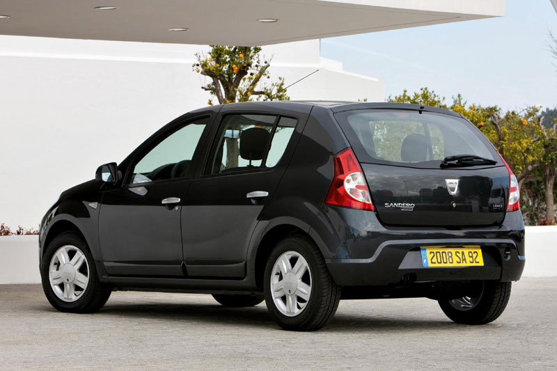 Dacia Sandero 1.2 16V Black Line 5-door hatchback 2009 until 2011