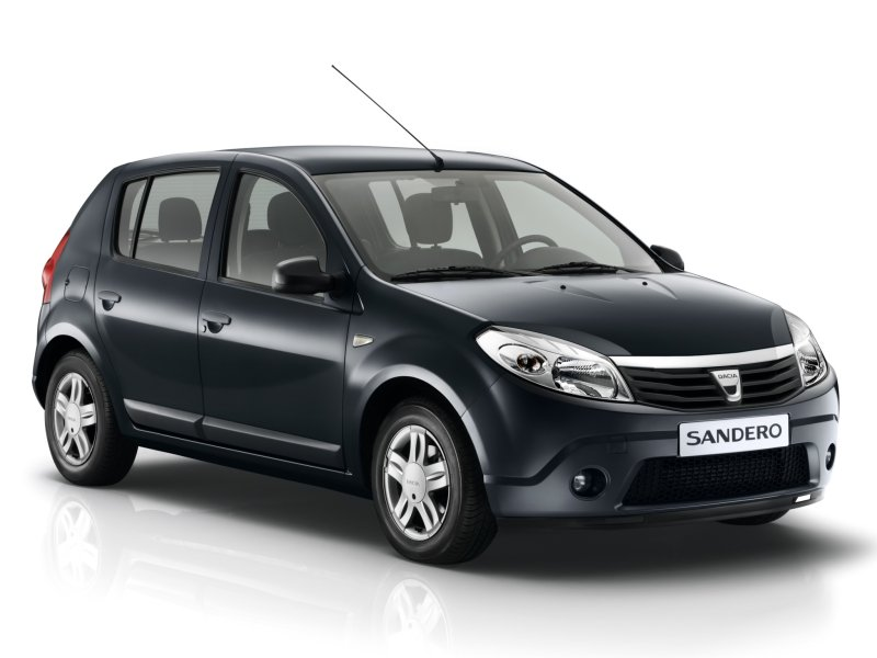 Dacia Sandero available with 1.2 16V 75hp LPG Euro5 engine.
