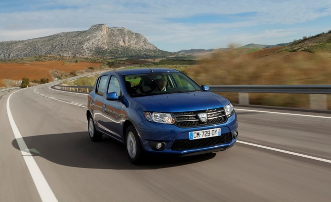 Dacia Sandero car wallpaper 1920x1200 wide.