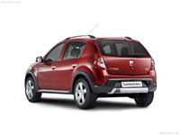 Dacia Sandero Stepway car wallpaper 1366x768 HD.