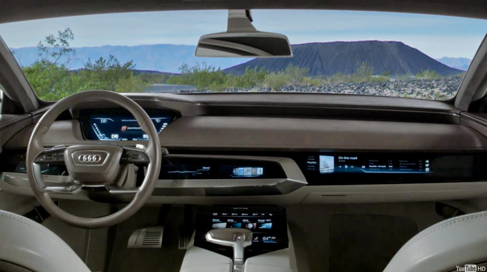 Ewoud Luppens: Audi Prologue Interior. As a Hardware Interface