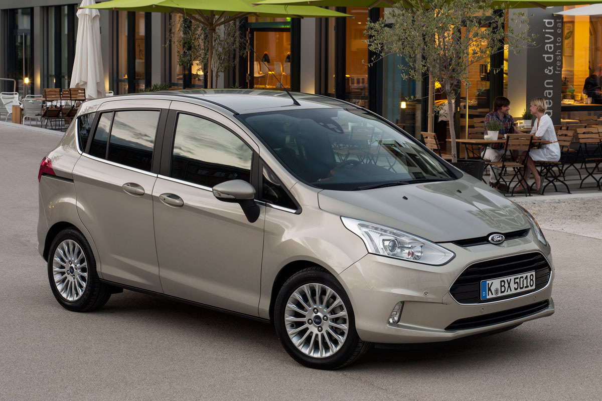 Ford B-MAX 1.0 EcoBoost 100pk Titanium specificaties | Auto