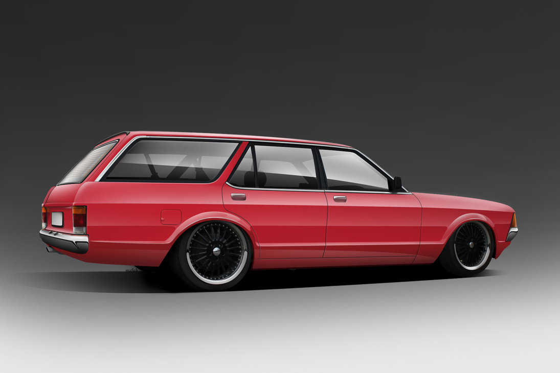 Ford granada wagon by Mafiak13 on DeviantArt