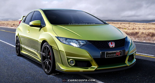 Future Cars: New 2015 Honda Civic Type-R with Close to 300HP
