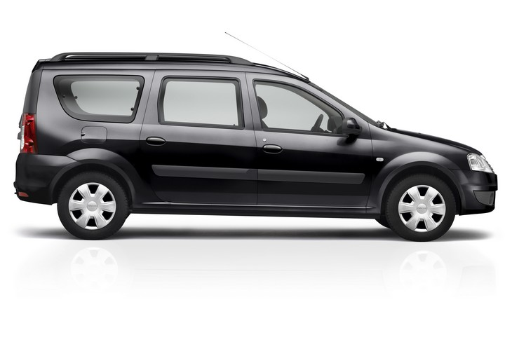 Gallery For > Dacia Logan 2009 Black