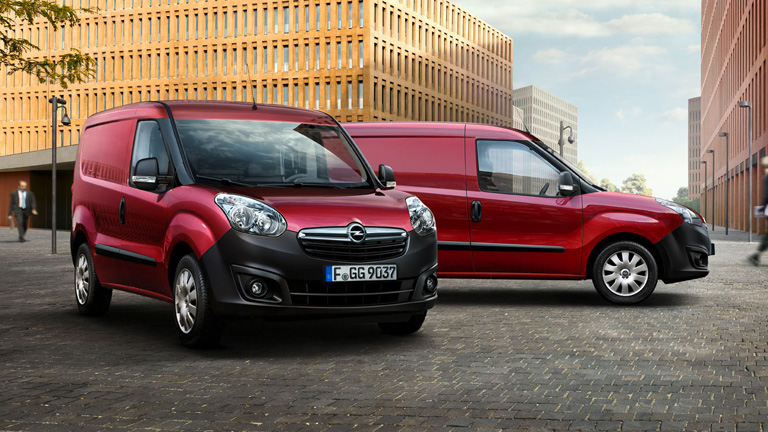General Motors needs a small van like the Opel Combo Outdoor Van