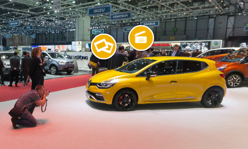 Geneva 2013: virtual tour of the Renault & Dacia stands