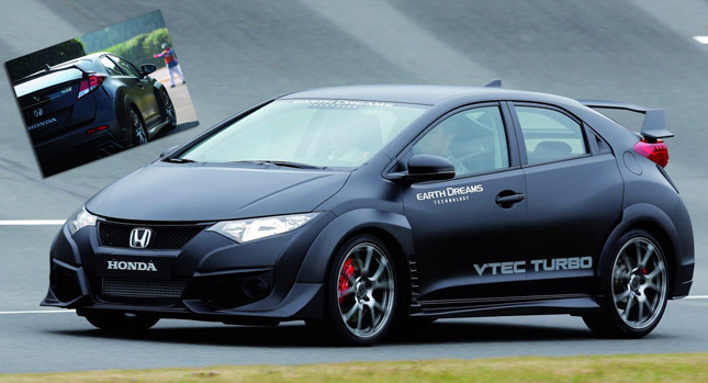 Honda Unveils Near Production 2015 Civic Type R VTEC Turbo [36