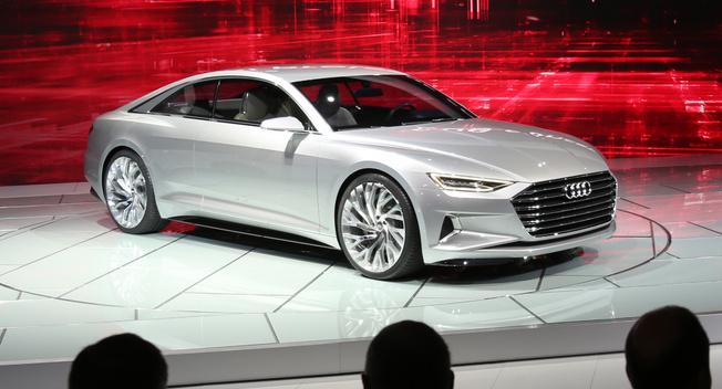 LA LIVE: Audi prologue concept | New and Used Car Reviews