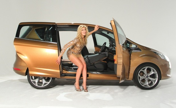Made In Chelsea' Cheska Hull sparkles at Ford B-MAX launch