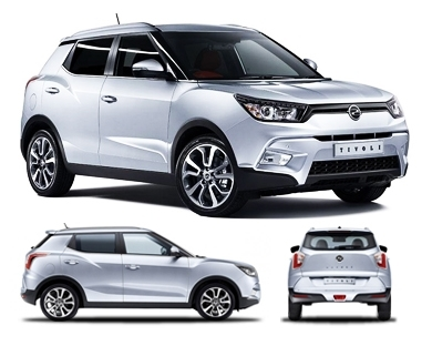 Mahindra SsangYong Tivoli - Expected Price Rs. 9,30,000 in India