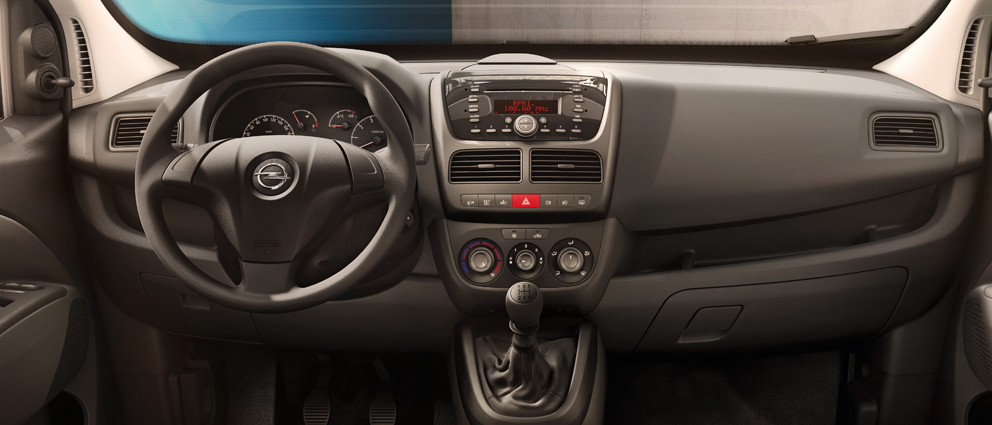 New Opel Combo gallery: interior views - Opel Singapore
