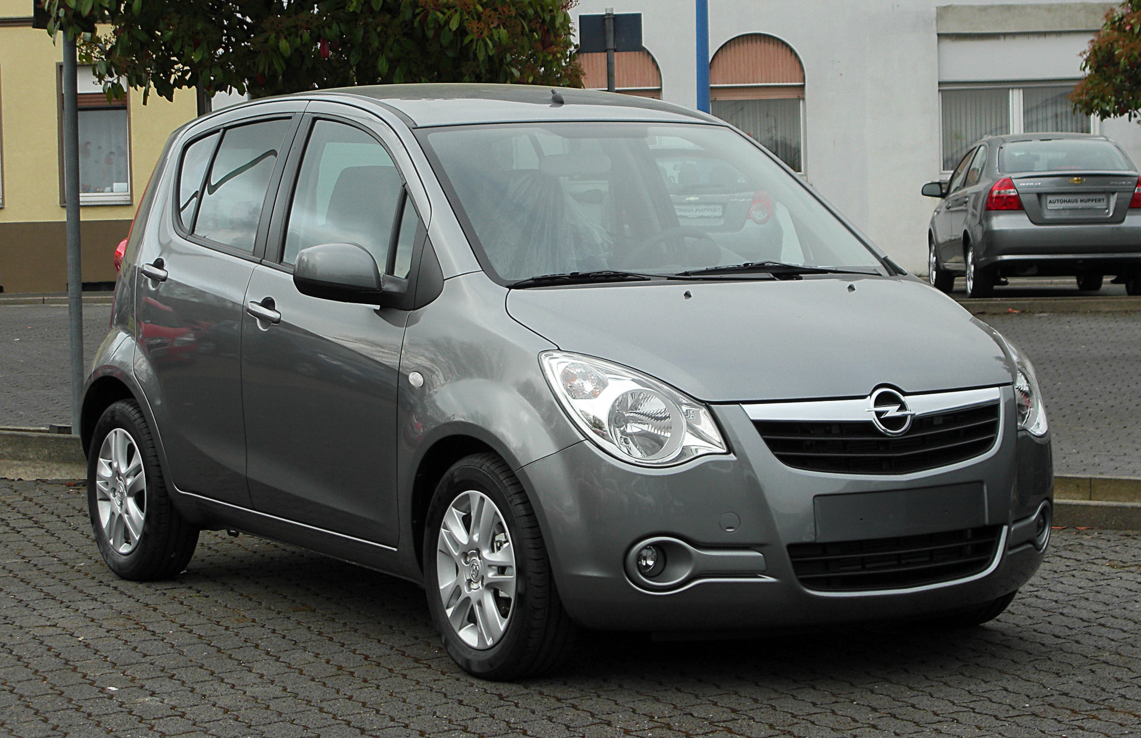 Opel Agila - Wikipedia, the free encyclopedia