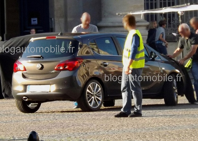 Opel Corsa Spy Photos | The Motor Report