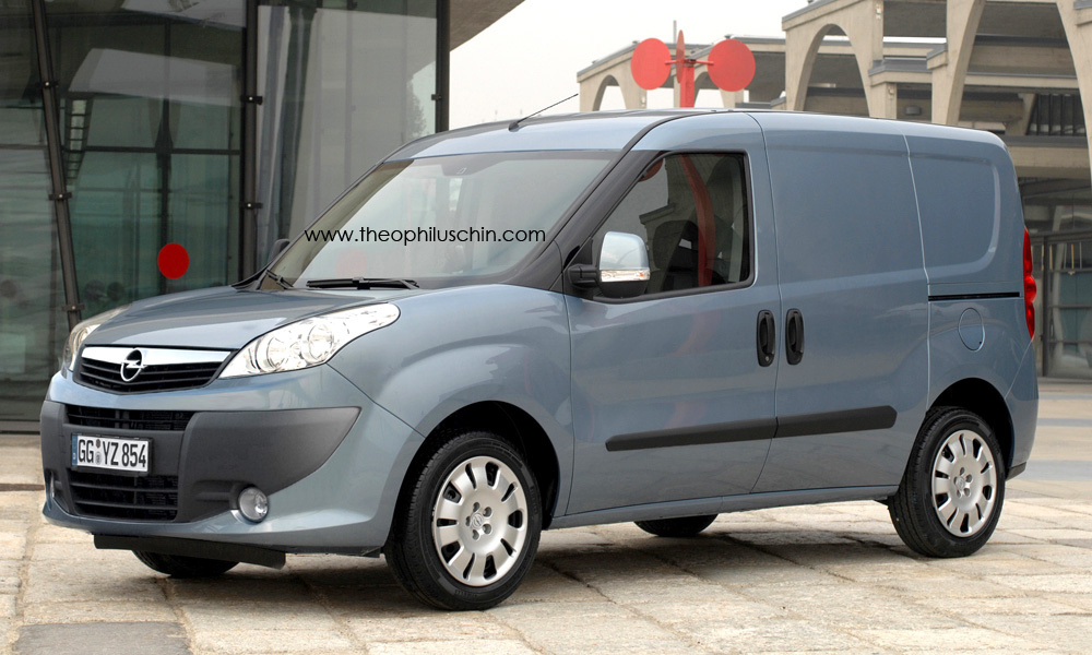 Opel/Vauxhall Combo Theophilus Chin