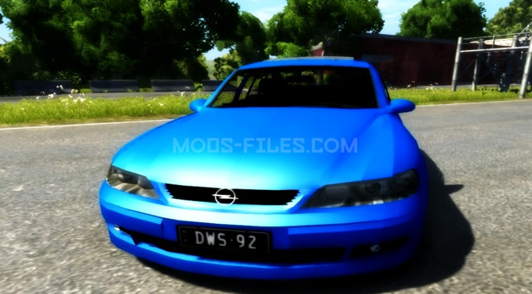 Opel Vectra B 2001 - BeamNG DRIVE - Mods-Files.Com - Spin Tires