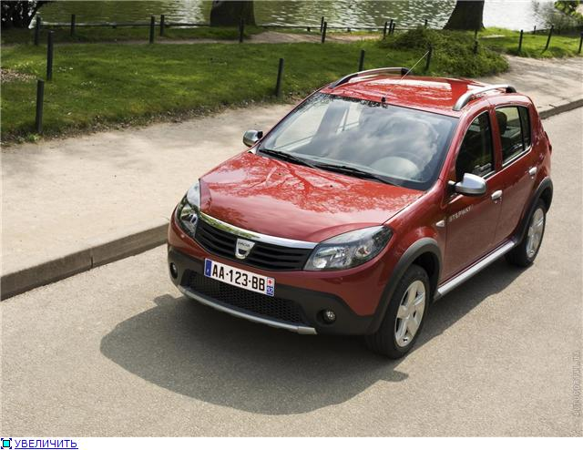 Pics and wallpapers with Dacia Sandero Stepway.