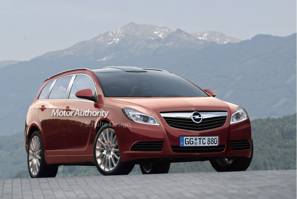 Preview: 2010 Opel Insignia Caravan, Gallery 1 - MotorAuthority