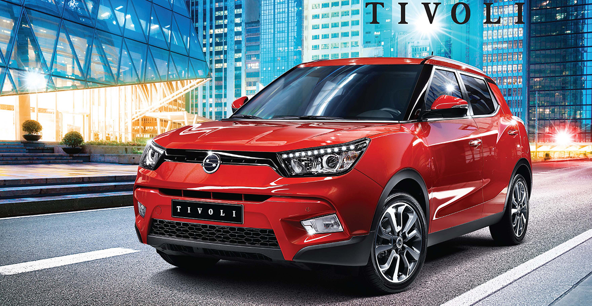 SsangYong Motors Ireland » SsangYong Tivoli to be launched in