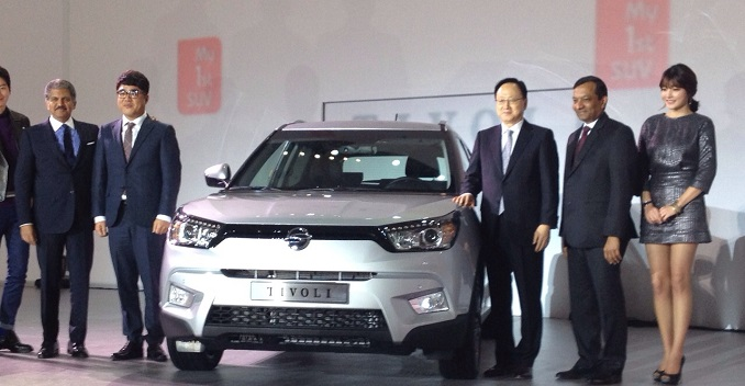 SsangYong Tivoli Compact SUV Launched in Korea - News
