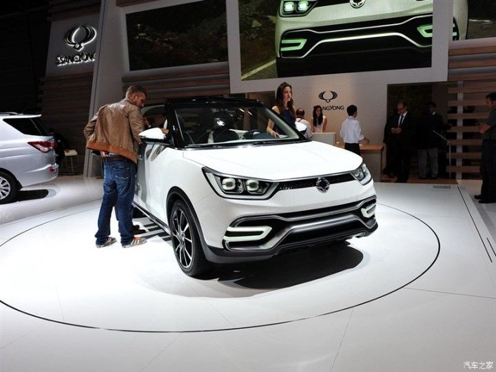 Ssangyong X100 Compact SUV India Launch In Early 2015