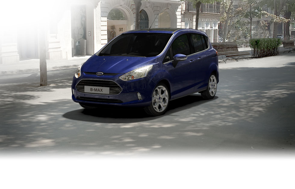 The Ford B-MAX. The compact mini MPV from Ford