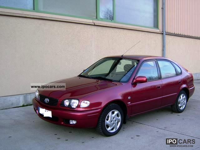 toyota corolla 1.6 hatchback specifications