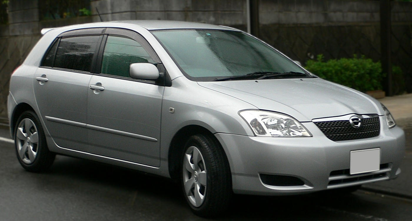 TOYOTA Corolla car technical data. Car specifications. Vehicle