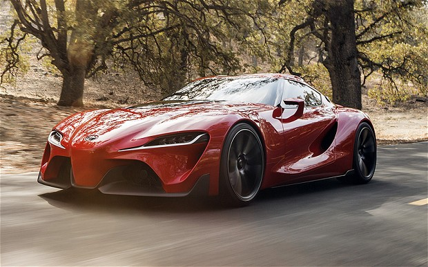 toyota ft 1 youtube