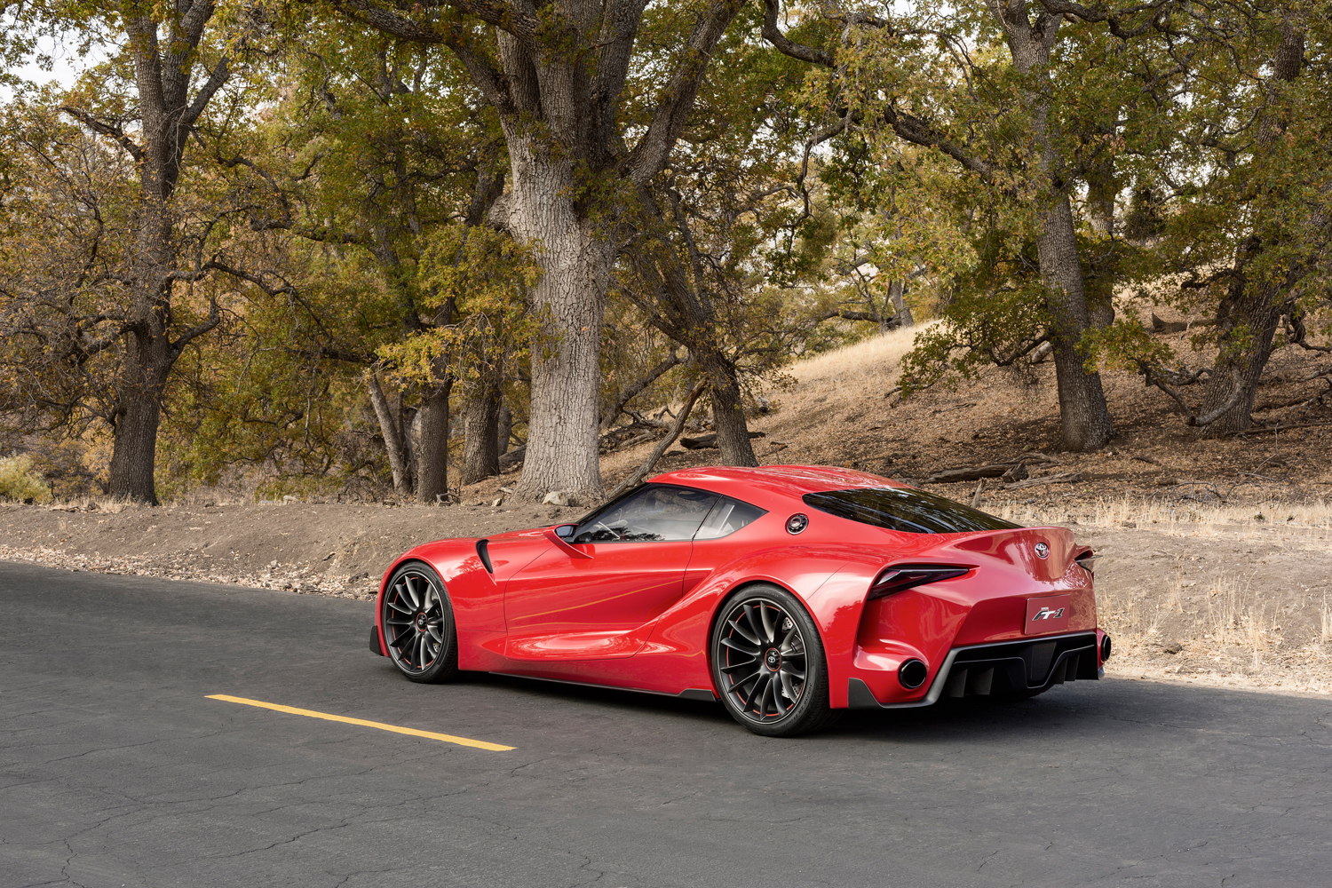 toyota ft1 on track