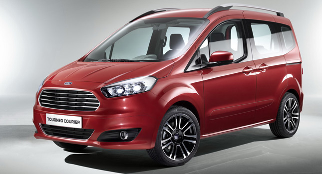 2015 ford tourneo courier model galerisi