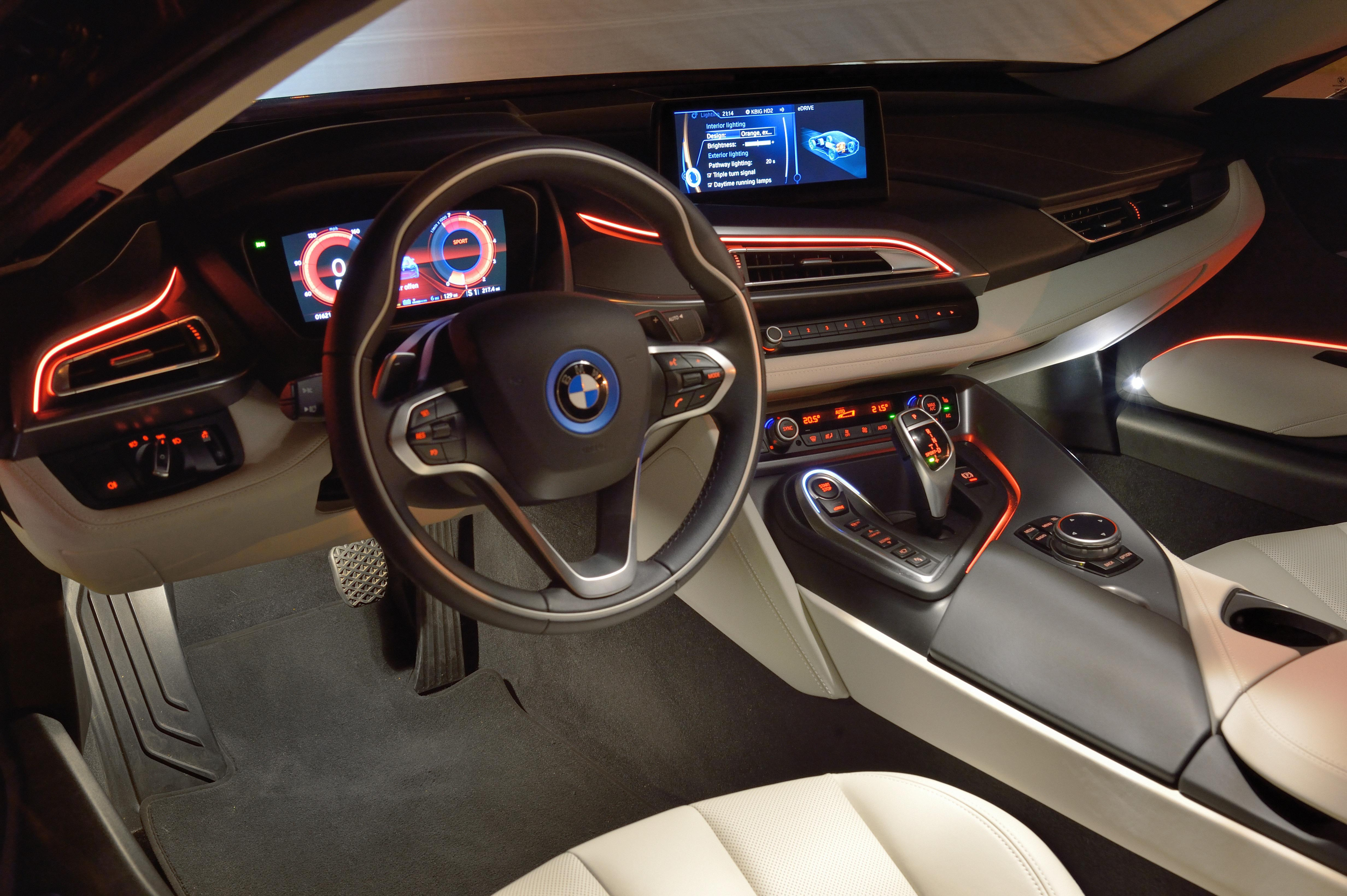 bmw i8 laser headlights