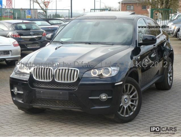 bmw x6 40d consommation