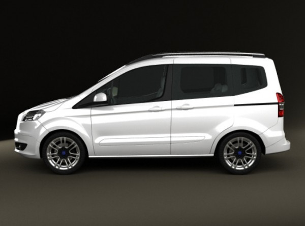 en son çıkan ford tourneo courier model resmi