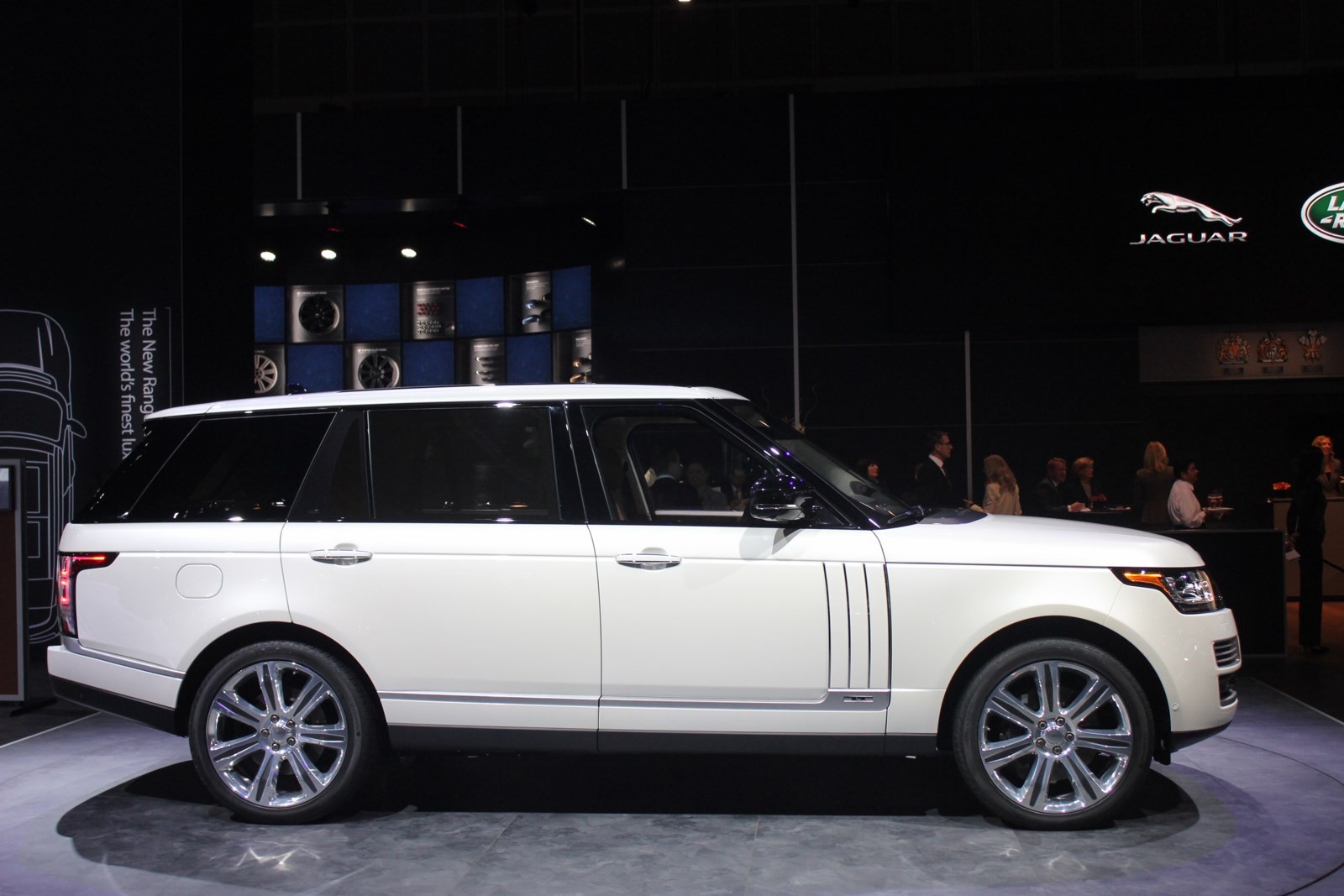 Yeni Model Range Rover Vogue Long 2015