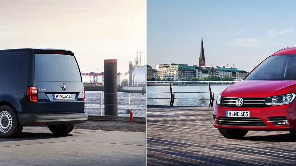 en son çıkan volkswagen caddy model resmi