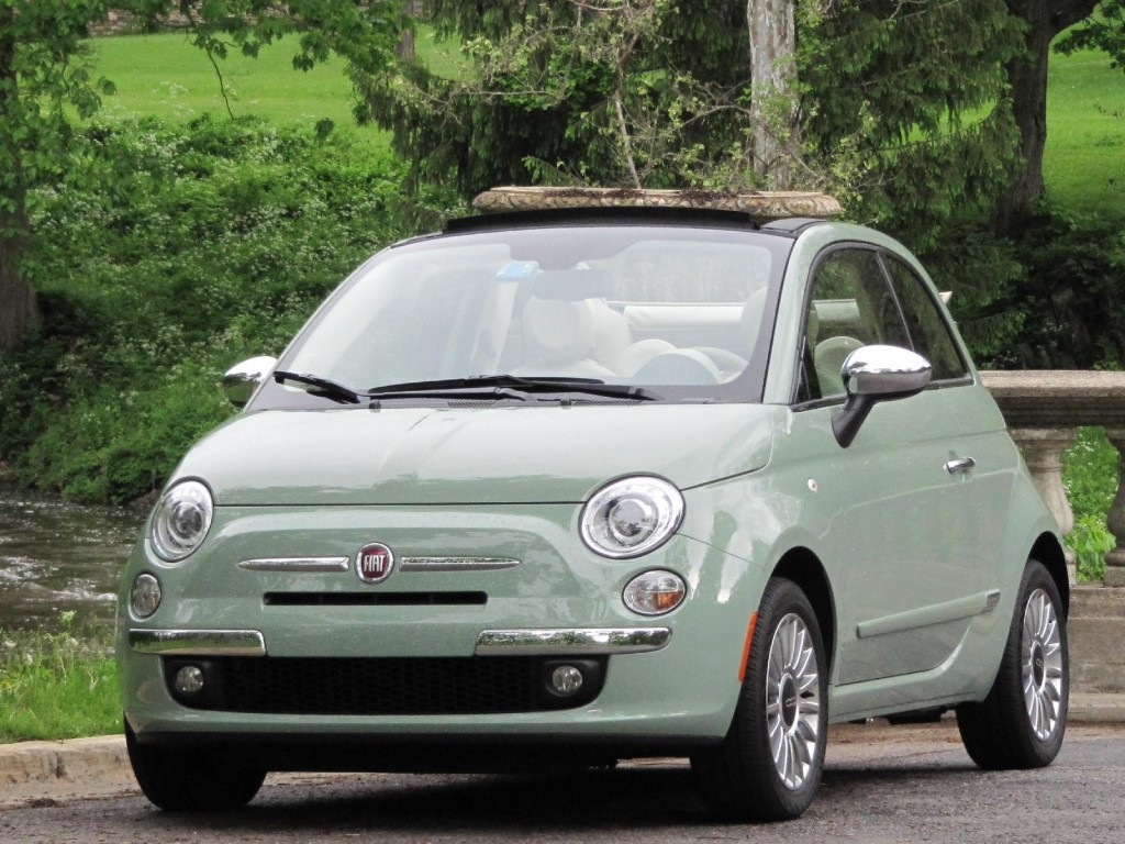 fiat 500c lounge convertible