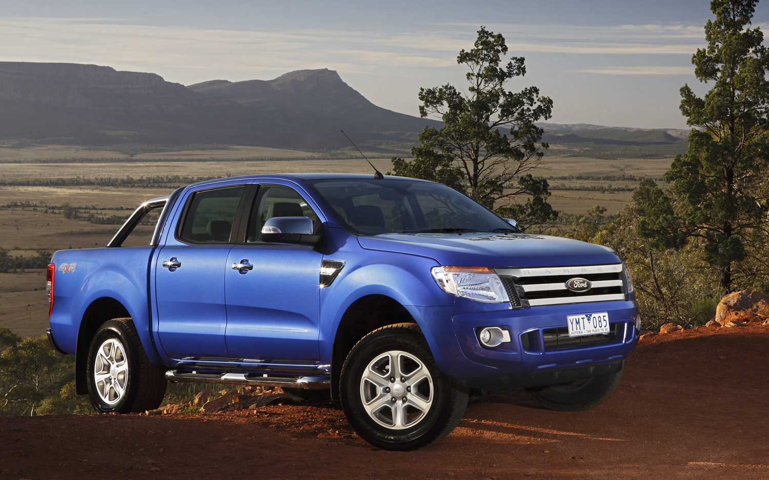 ford ranger quarter mile