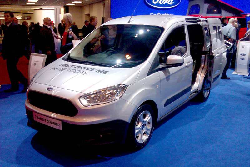 ford transit courier automatic