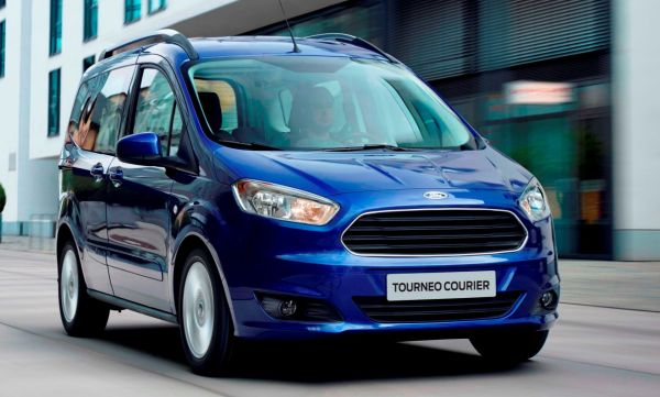 ford transit courier black