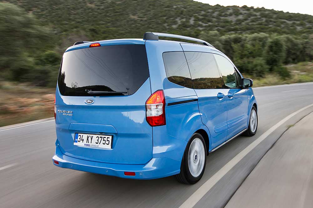 ford transit courier brochure