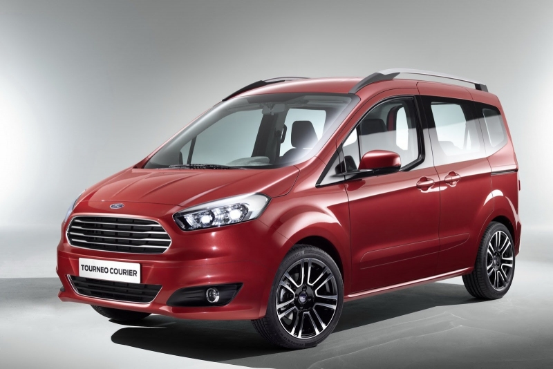 ford transit courier pdf
