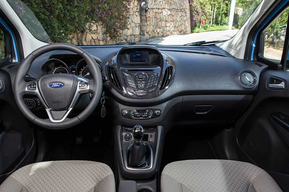 ford transit courier preis